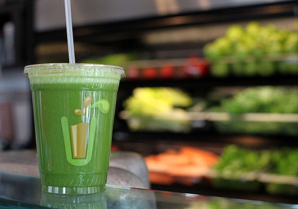 Green Juice - whole fruits and vegetables have lots of healthy fiber, but in order to make healthy vegetables palatable, dieters blend in a lot of sugary fruit, with at least six teaspoons of sugar in the average green juice.