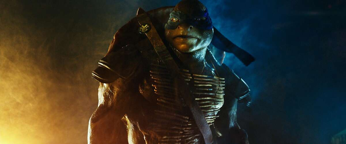 This photo released by ILM/Paramount Pictures shows a scene from the film,