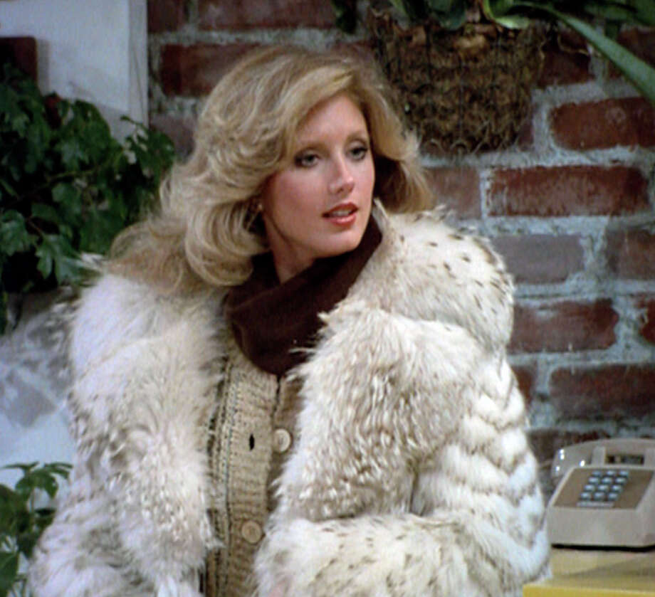 Morgan Fairchild: 1979Age: 29 Photo: CBS Photo Archive, Getty / 1979 CBS Photo Archive