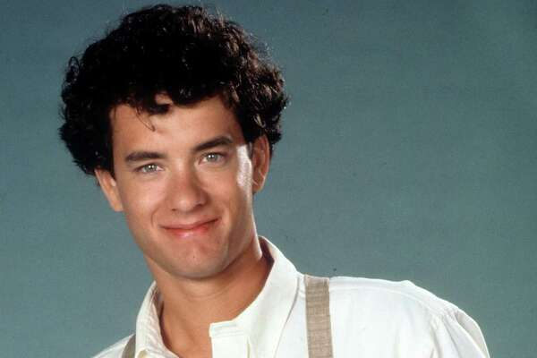 Tom Hanks publicity portrait for the film 'The Man With One Red Shoe', 1985.