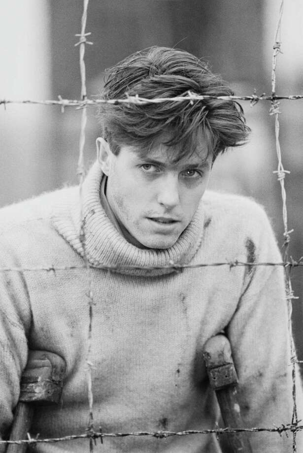 Hugh Grant: 1984Age: 24 Photo: United News/Popperfoto, Getty / 1984 Popperfoto
