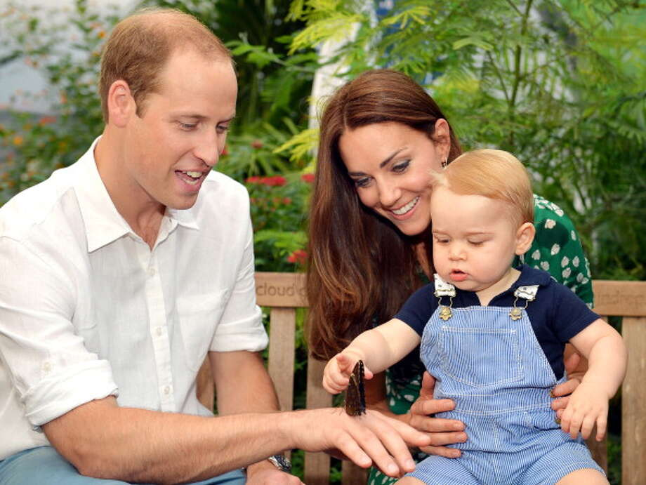 Prince William, Kate Middelton and Prince George  Photo: JOHN STILLWELL, Getty Images / AFP