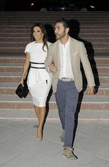 Marbella Spain July 18 Eva Longoria And Jose Antonio