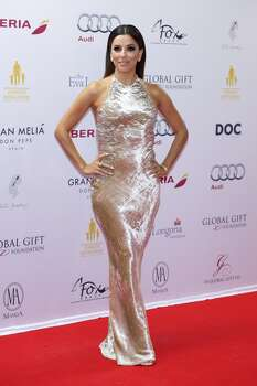 MARBELLA, SPAIN - JULY 20:  Eva Longoria attends Global Gift Gala 2014 at Melia Don Pepe Hotel on July 20, 2014 in Marbella, Spain.  (Photo by Juan Naharro Gimenez/WireImage) Photo: WireImage