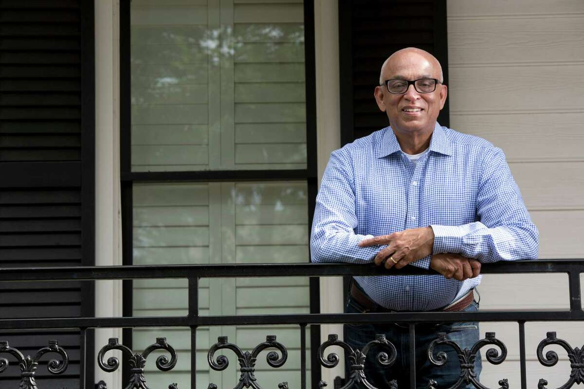 """Not long after Prasad Menon moved to Houston, he struggled to get a loan to start his consulting business. """"I didn't have credit history,"""" he said, and banks were hesitant to take a chance on him. Now, more than 30 years later, he's helping other young entrepreneurs who need loans to start their businesses."""