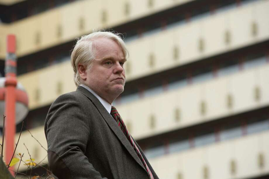 "Philip Seymour Hoffman plays a German intelligence agent  in ""A Most Wanted Man."" Photo: Kerry Brown"