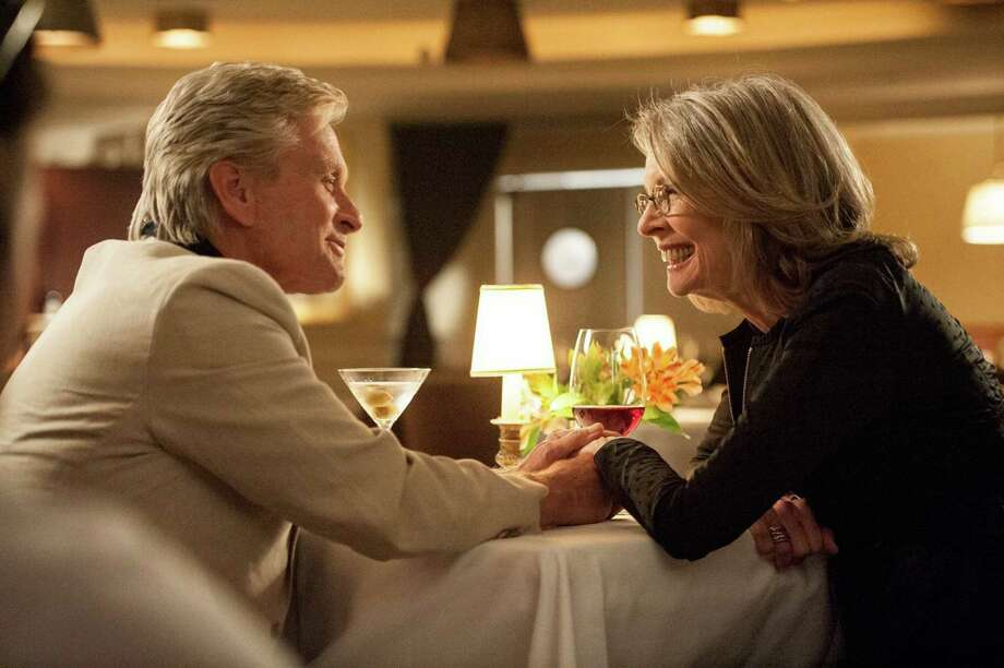 "Oren (Michael Douglas) and Leah (Diane Keaton) make a connection in ""And So It Goes."" Photo: Handout, HO / Handout"