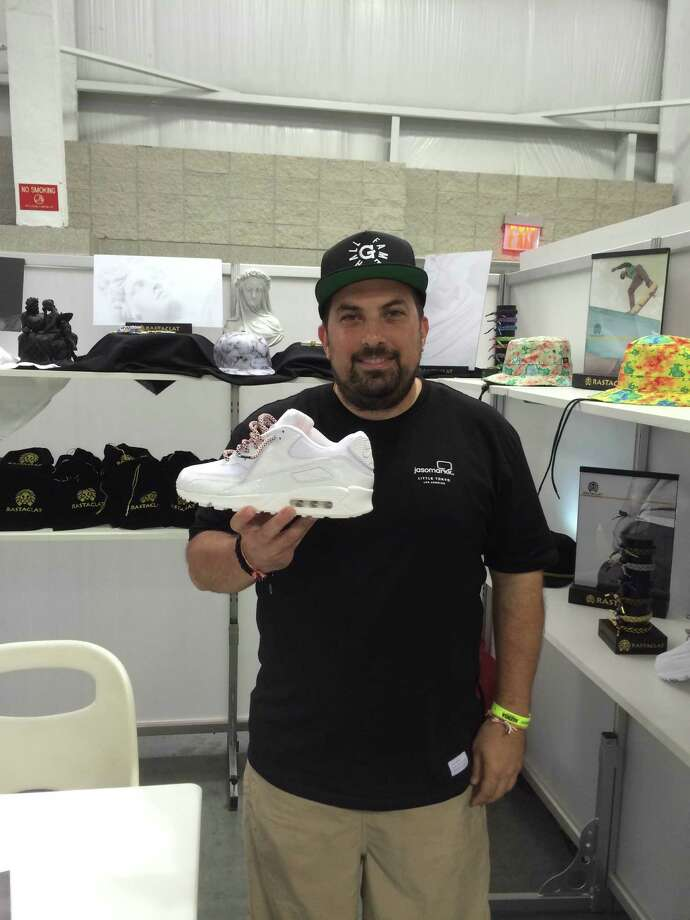 Bryan Angelle, founder of the H-Town Sneaker Summit, says this year's event will feature more exhibitors than ever. Photo: Courtesy Of Bryan Angelle / ONLINE_YES
