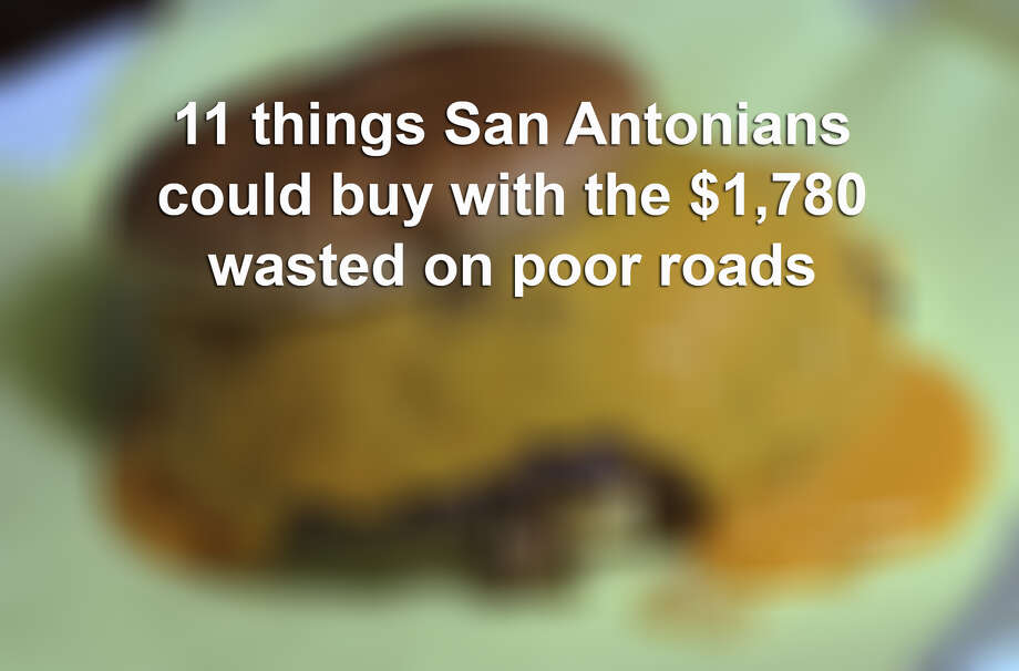 The transportation system in the Alamo City is theworstof any metro in the state and costs drivers $1,780 in additional costs per year, according to aJuly 2014 study by TRIP. Photo: Billy Calzada, Photo Illustration / San Antonio Express-News