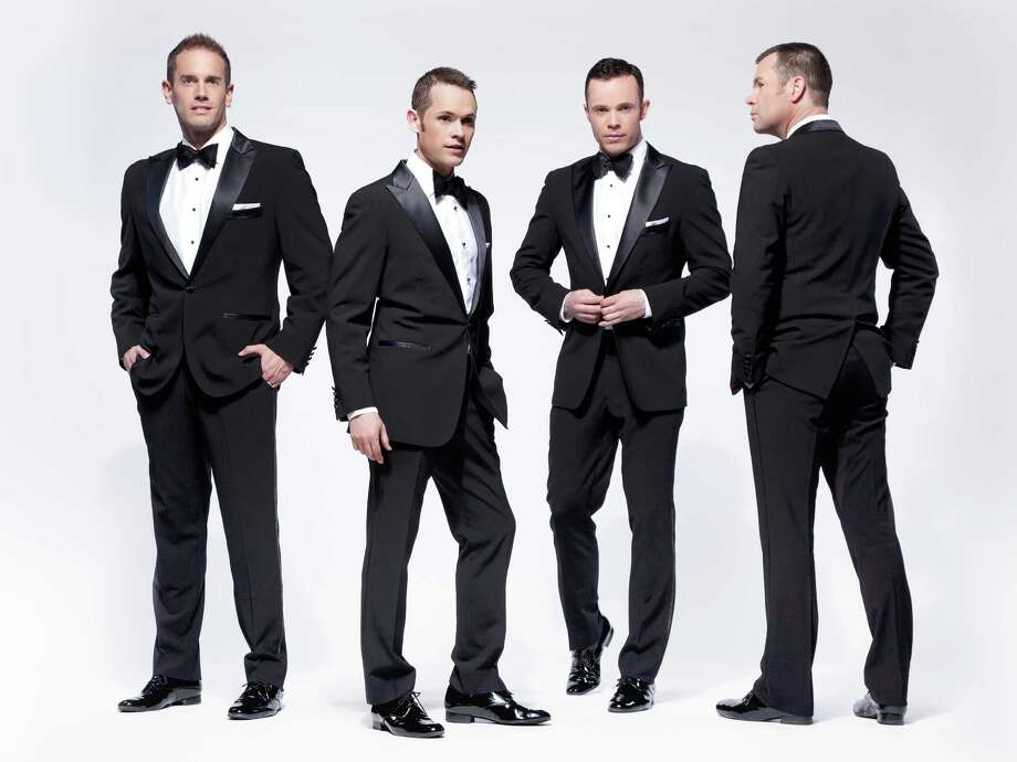 The Australian vocal group Human Nature is bringing its Motown show to the Palace Theater in Waterbury on Wednesday, August 6. The quartet consists of (left to right) Toby Allen, Mike Tierney, Andrew Tierney, and Phil Burton. Photo: Contributed Photo / Connecticut Post Contributed