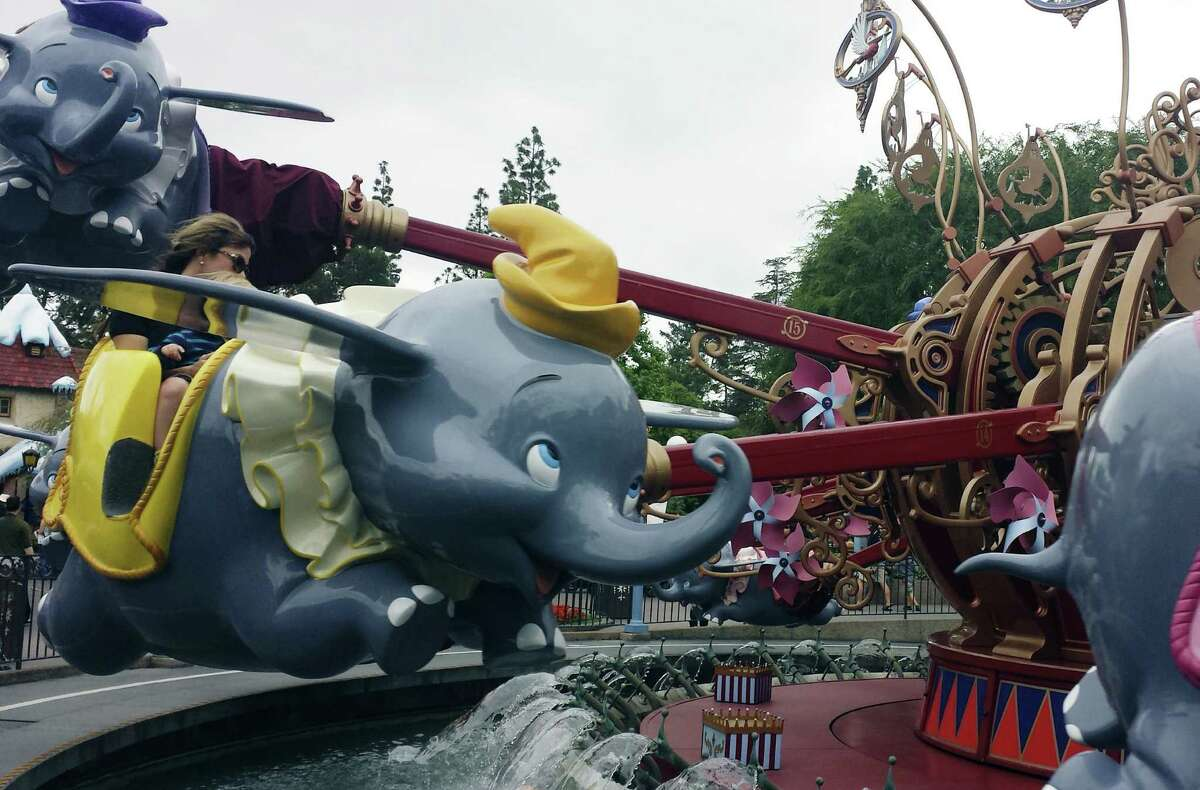 Dumbo the Flying Elephant in Fantasyland is an absolute must ride. Like the teacup ride, it can be controlled by small children who will enjoy making the elephant go up and down.