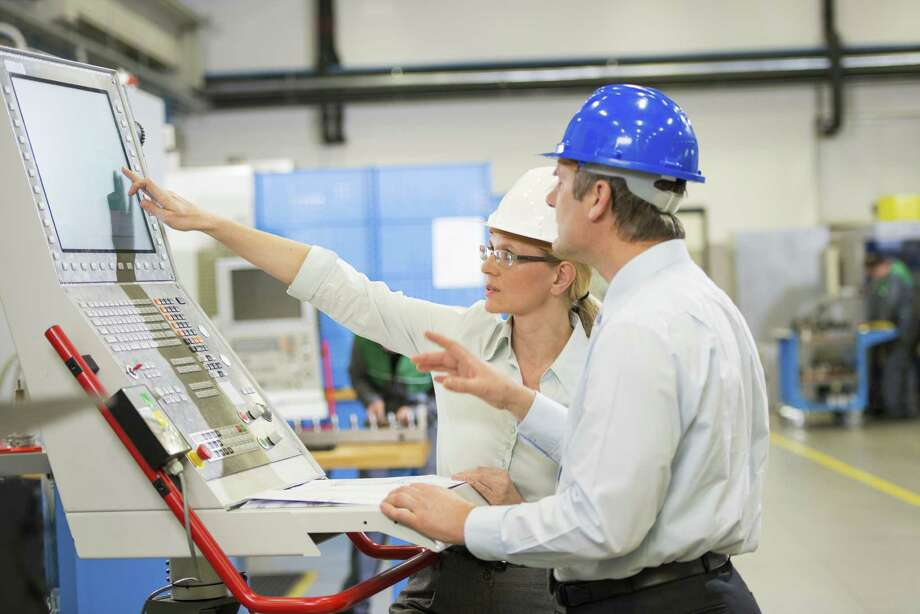 With current economic growth, industrial/manufacturing engineers continue to be in demand, due to their overall responsibilities, and essentially being the ones who direct the process and production of all products. / iStockphoto