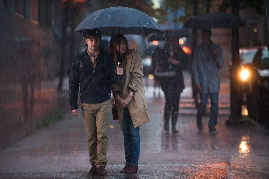 "Daniel Radcliffe (left) and Zoe Kazan are young enough and idiosyncratic enough to entice an audience to invest in the romance of ""What If."" Photo: CBS Films"