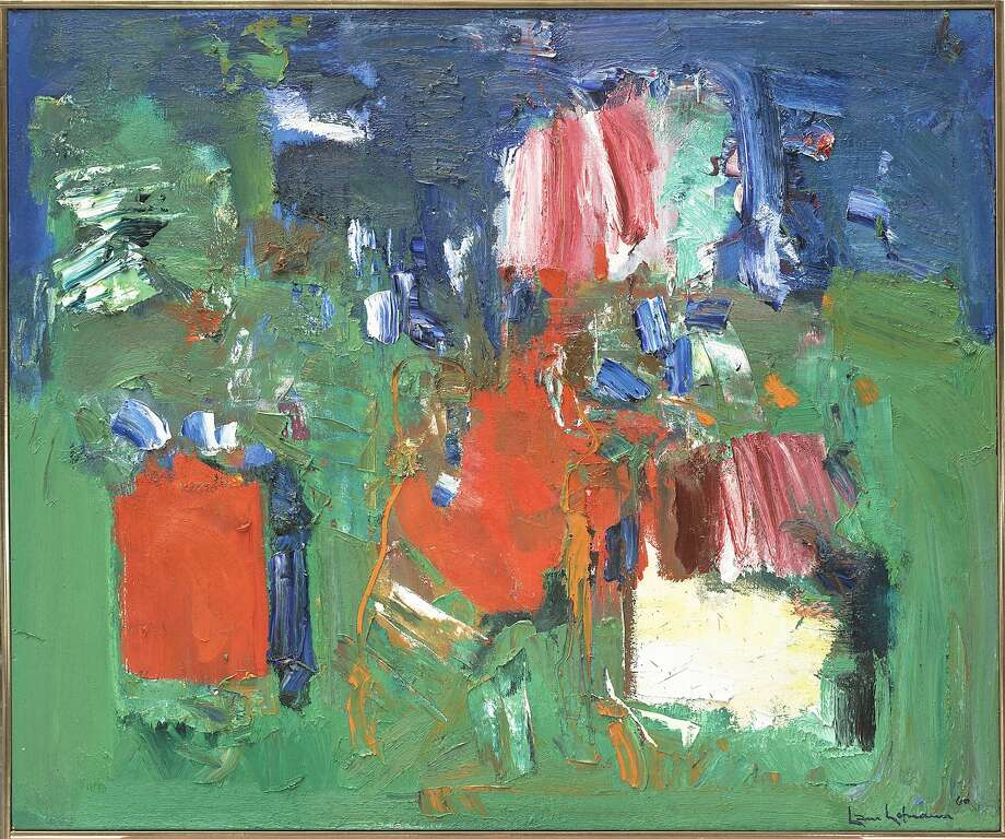 """Summer Bliss"" (1960), oil on canvas; gift of the artist, Hans Hofmann, to the Berkeley Art Museum in memory of Worth Ryder. Photo: Courtesy Of The Artist"