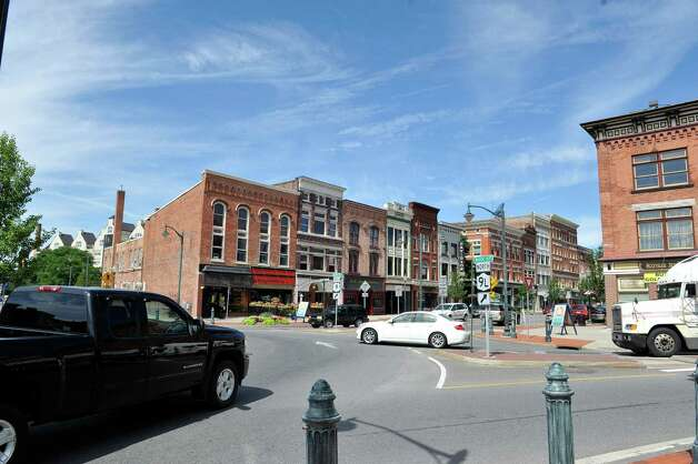 A view of down town Glens Falls on Thursday, July 24, 2014, in Glens Falls, N.Y.  (Paul Buckowski / Times Union) Photo: Paul Buckowski / 00027908A