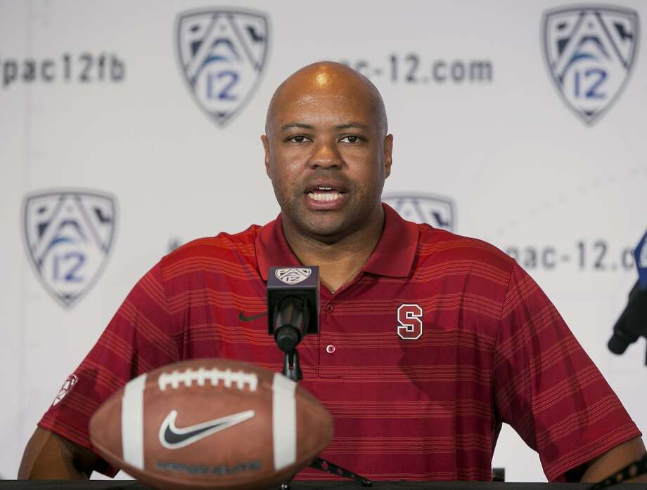 Stanford head coach David Shaw says he might have a rotation at running back. Photo: Associated Press