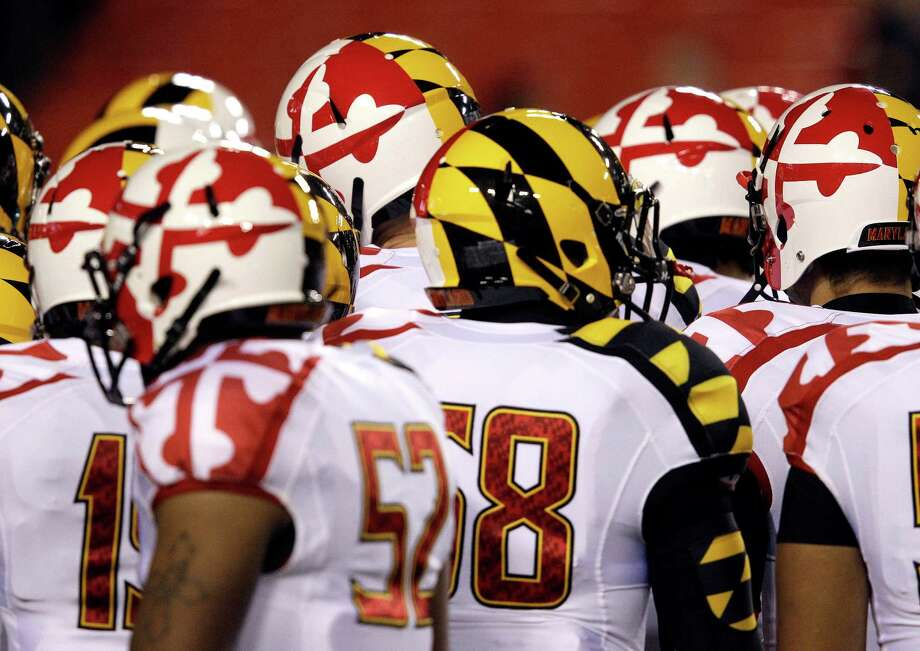 This is not your grandfather's Big Ten. The buttoned-down league of old brings aboard Maryland and its unusual uniforms, left, and Rutgers this season. The new members are in large population centers that will help with Big Ten Network revenue and provide fresh recruiting areas at a time when states like Michigan and Pennsylvania aren't producing as many players as they once did. Photo: Patrick Semansky, STF / AP
