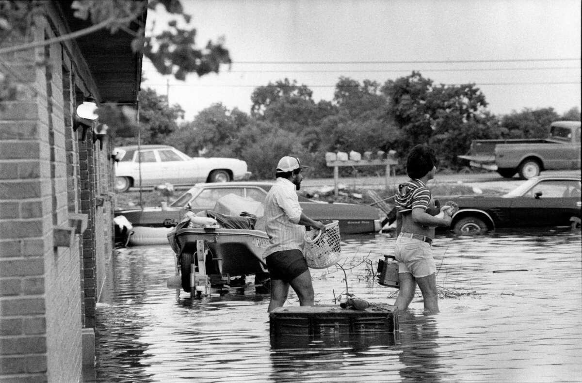T.S. Claudette - July 1979 Peak rainfall: 42 inches in Alvin