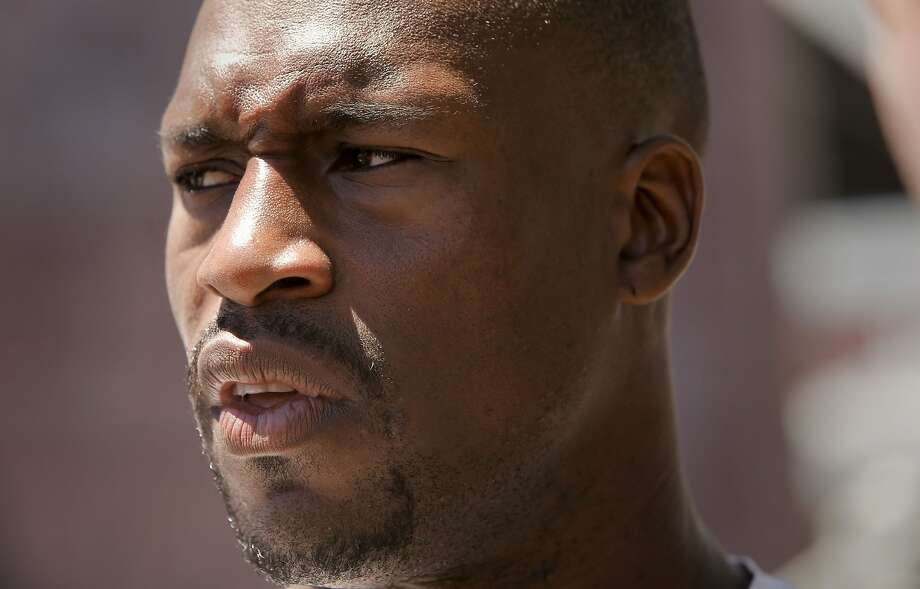 San Francisco 49ers tight end Vernon Davis, (85) as seen on Thursday July 24, 2014 during training camp as the team prepares for the 2014 season in Santa Clara, Calif. Photo: Michael Macor, The Chronicle