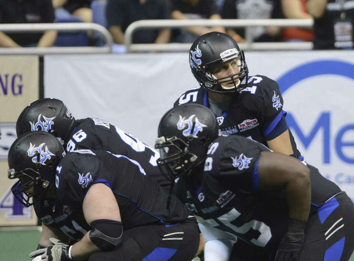 Quarterback Matt Bassuener and the Talons have struggled to a 2-15 record in what might be their last season in the city.