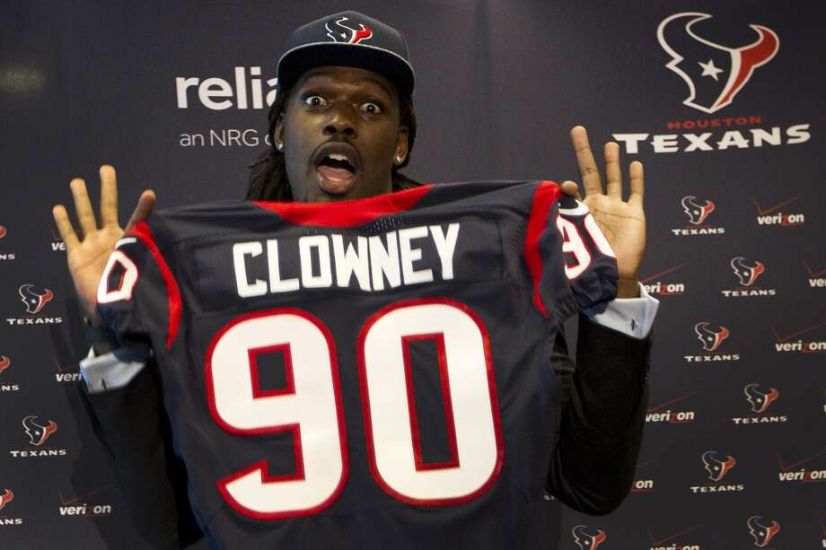 8. Jadeveon Clowney, Texans linebacker. Age: 21.  Last year: Not on the list.Why he matters:Normally a rookie linebacker wouldn't be judged to be so influential, but considering he was the top overall pick in the NFL draft and purported to be a once-in-a-generation-sized talent, he should be capable of impacting the Texans dramatically when added to a defense that also includes a healthy Cushing and a hyper-motivated Watt. It's an extreme reach to suggest he's the missing piece in a Super Bowl run, but if he plays up to the expectations befitting his status, he can be the player who puts his team back in the playoff conversation. Photo: Brett Coomer, Houston Chronicle
