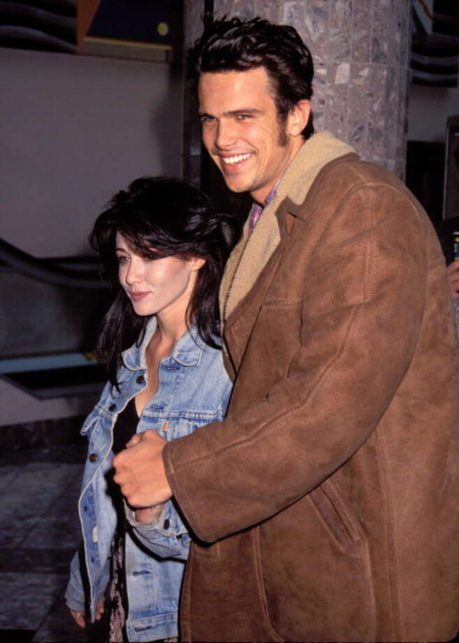 Shannen Doherty and Ashley Hamilton:5 months (1993) Photo: Vinnie Zuffante, Getty Images / Archive Photos