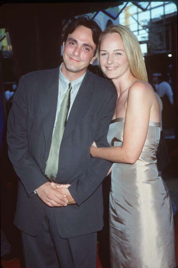 Helen Hunt and Hank Azaria: 11 months (1999–2000) Photo: Brenda Chase, Getty Images / Hulton Archive