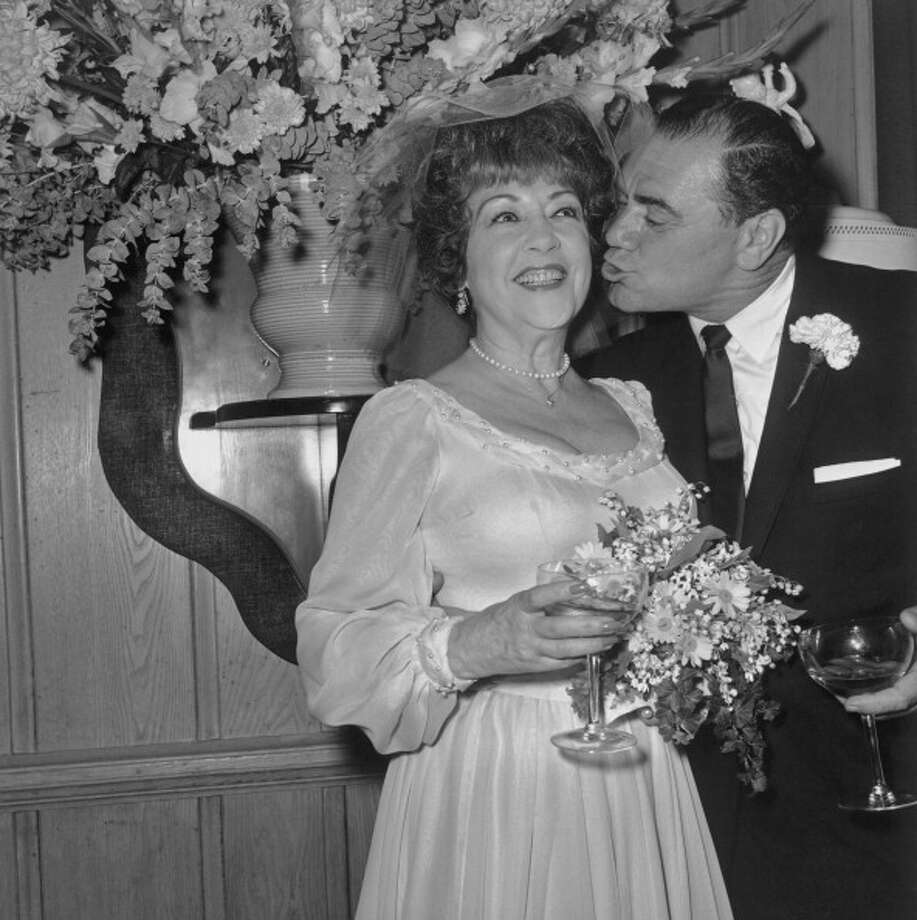 Ethel Merman and Ernest Borgnine:32 days (1964) Photo: Archive Photos, Getty Images / 2011 Getty Images