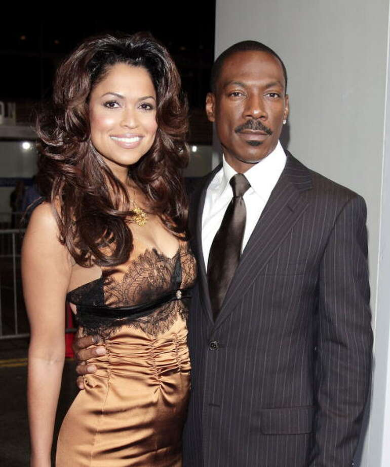 Eddie Murphy and Tracey Edmonds:2 weeks (never official- married outside of the U.S.) Photo: Kevin Winter, Getty Images / 2007 Getty Images