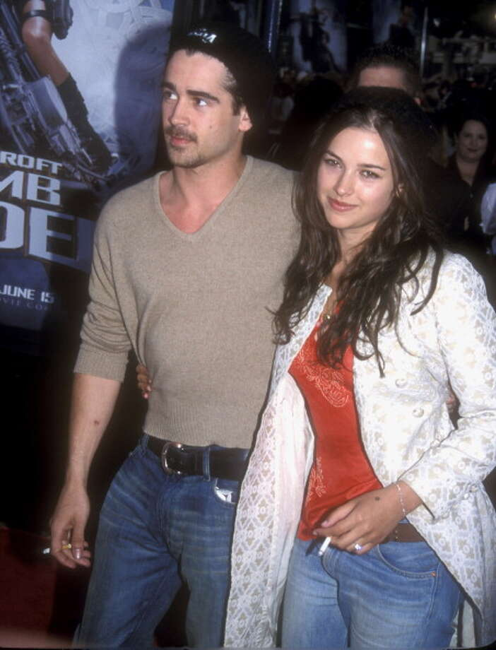Colin Farrell and Amelia Warner: 4 months (2001) Photo: Barry King, Getty Images / WireImage