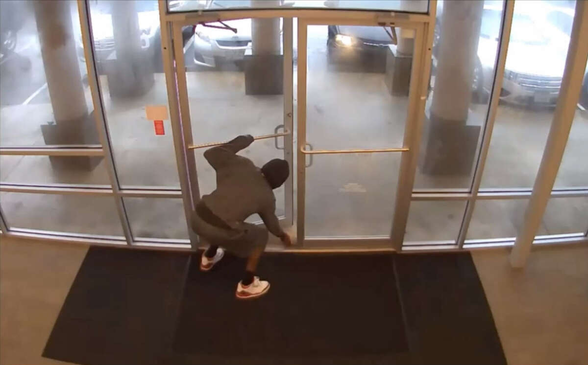 Houston police are searching for three masked gunmen who robbed a Sprint store at gunpoint on July 17. Investigators believe they may be the same men who committed a similar armed robbery of a Harris County T-Mobile store on July 24, making off with approximately $30,000 in cellphones. (Houston Police)