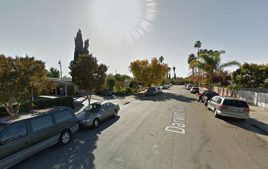 Five men were found either stabbed or beaten on the 1800 block of Darwin Way, San Jose, CA Photo: Google Maps