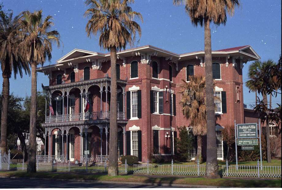 """Ashton Villa at 2328 Broadway was built in 1859 by Colonel James Moreau Brown and has the distinction of being one of the first brick structures in Texas and Galveston itself. It was also the site of the historic """"Juneteenth"""" reading of the Emancipation Proclamation on June 19, 1865. Photo: Betty Tichich, Houston Chronicle / Houston Chronicle"""