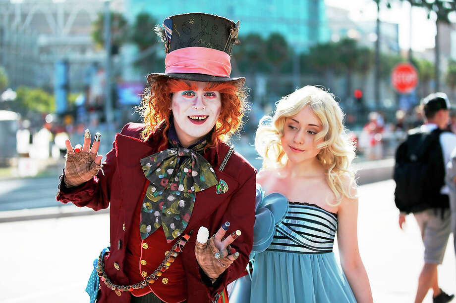 Fans in costume attend Comic-Con International 2014 - Day 1 on July 24, 2014 in San Diego, California. Photo: Joe Scarnici, FilmMagic / 2014 Joe Scarnici