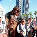 Fans in costume attend Comic-Con International 2014 - Day 1 on July 24, 2014 in San Diego, California.