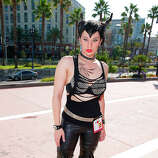 A costumed fan attends Comic-Con International 2014 - Day 1 on July 24, 2014 in San Diego, California.