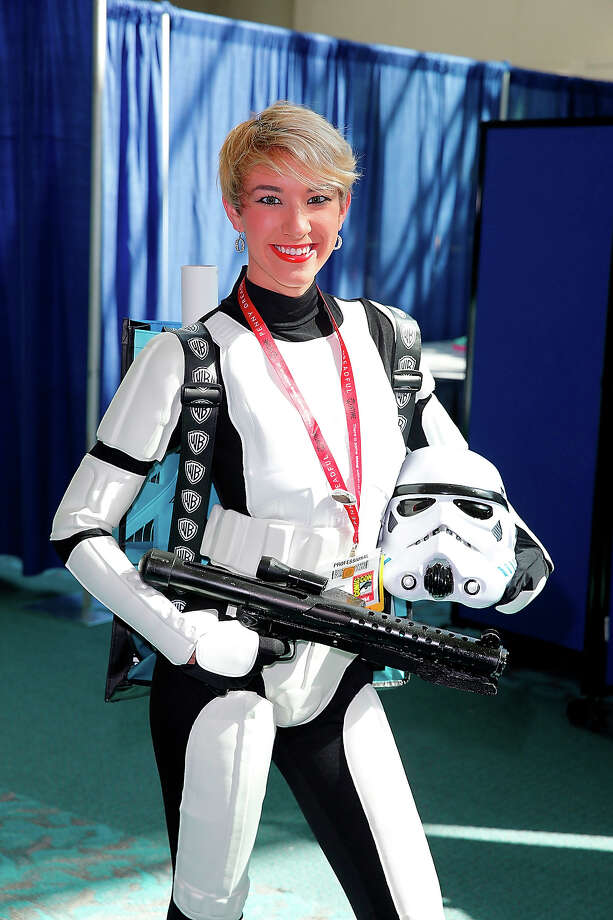 Storm Trooper 1We didn't think it was possible to rank Storm Troopers, but she has set the bar pretty high.  Photo: Joe Scarnici, FilmMagic / 2014 Joe Scarnici