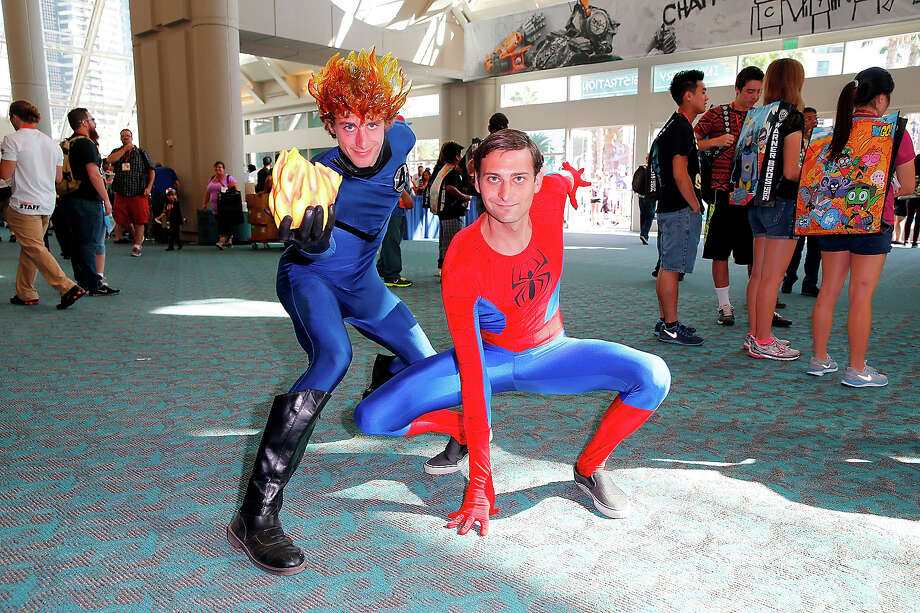 Spiderman 2The whole point of the costume is to conceal identity. We can all see your face. We could ID you if we needed to. Photo: Joe Scarnici, FilmMagic / 2014 Joe Scarnici
