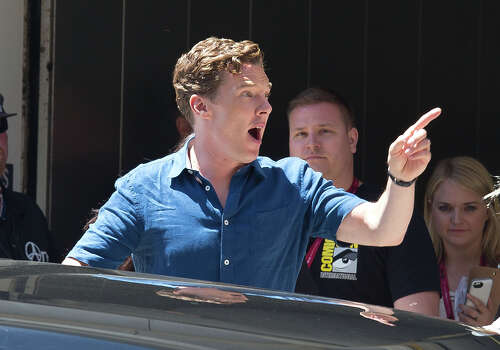 Benedict Cumberbatch arrives at Comic Con on July 24, 2014 in San Diego, California. Photo: GVK/Bauer-Griffin, GC Images / 2014 Bauer-Griffin