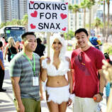 A general view of atmosphere during day 1 of Comic-Con International 2014 on July 24, 2014 in San Diego, California.