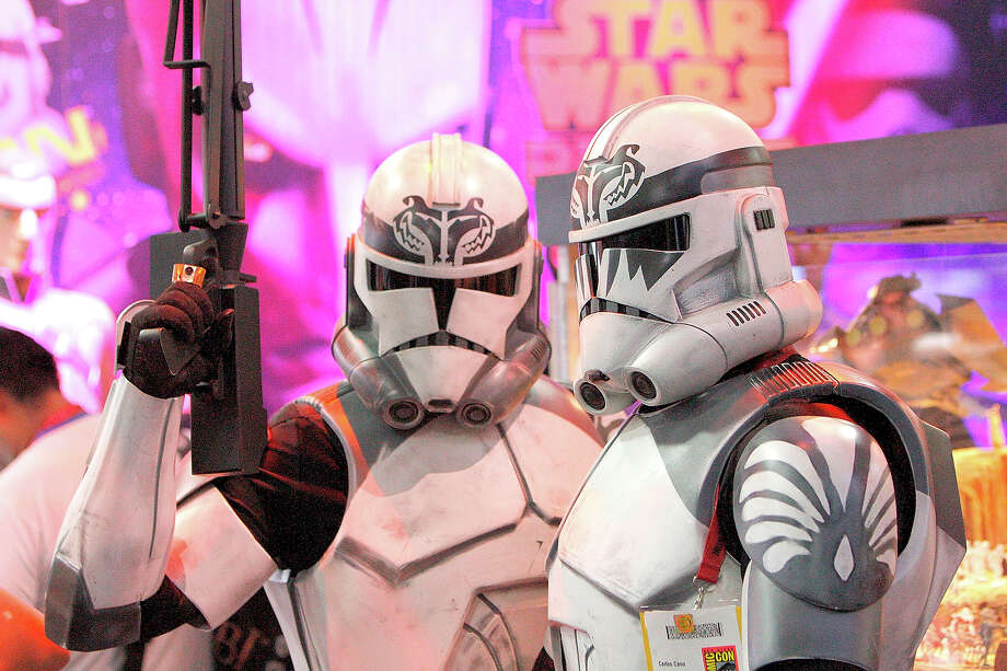 Storm Trooper 2 & 3These are OK. They are definitely storm-troopery enough.Sure you can't see a Storm Trooper's face, but you've got to admit Trooper 1 looks fantastic.  Photo: Daniel Knighton, WireImage / 2014 Daniel Knighton