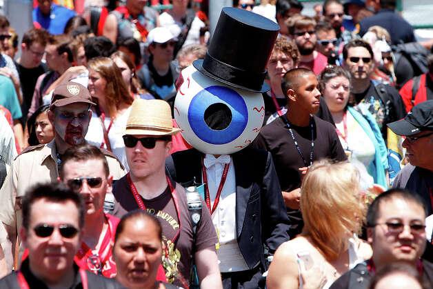 Costumed fans attend Comic-Con International at San Diego Convention Center on July 24, 2014 in San Diego, California. Photo: Daniel Knighton, WireImage / 2014 Daniel Knighton