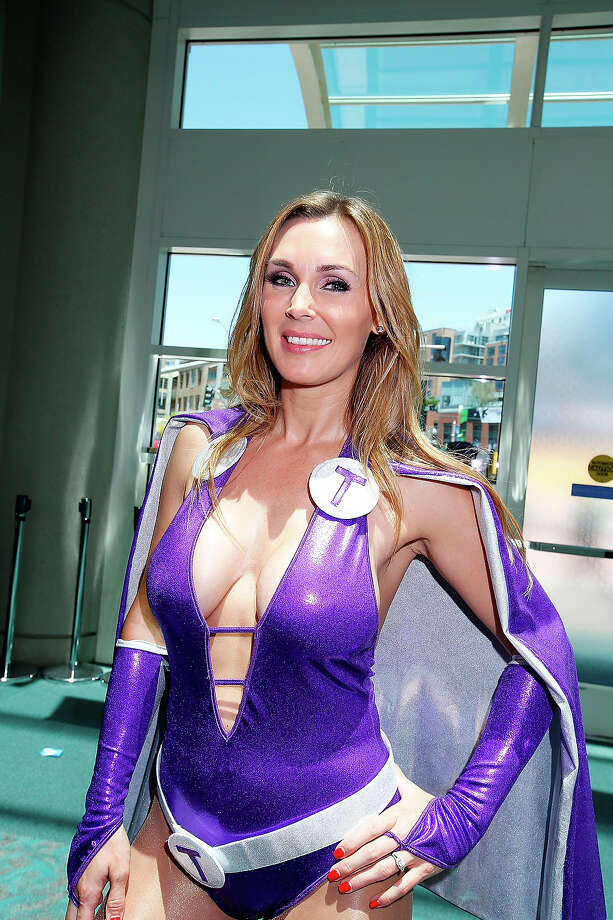 Model Tanya Tate attends Comic-Con International at San Diego Convention Center on July 24, 2014 in San Diego, California. Photo: Daniel Knighton, WireImage / 2014 Daniel Knighton