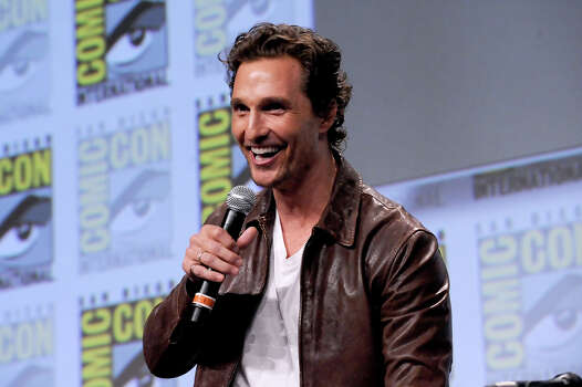 Actor Matthew McConaughey attends the Paramount Studios presentation during Comic-Con International 2014 at the San Diego Convention Center on July 24, 2014 in San Diego, California. Photo: Albert L. Ortega, Wire Photo / 2014 Albert L. Ortega