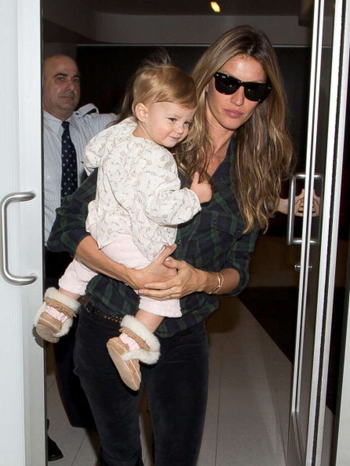 Gisele Bundchen and daughter Vivian Photo: GVK/Bauer-Griffin, Getty Images / 2014 Bauer-Griffin