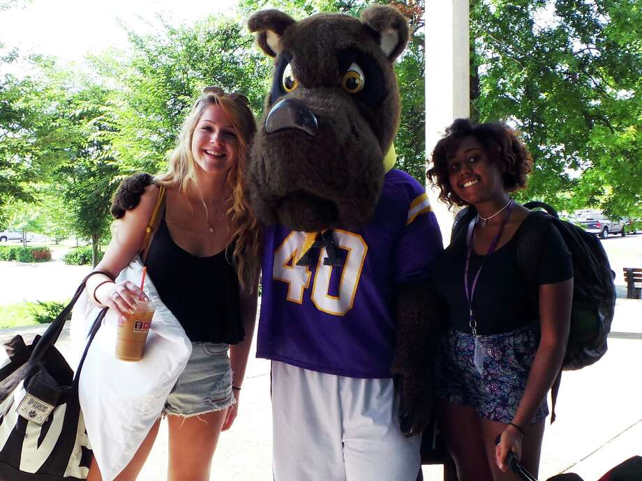 Were you Seen at the summer orientation sessions for new students held at UAlbany from July 21 to July 25, 2014? Photo:  Samantha Dobies/University At Albany Photography