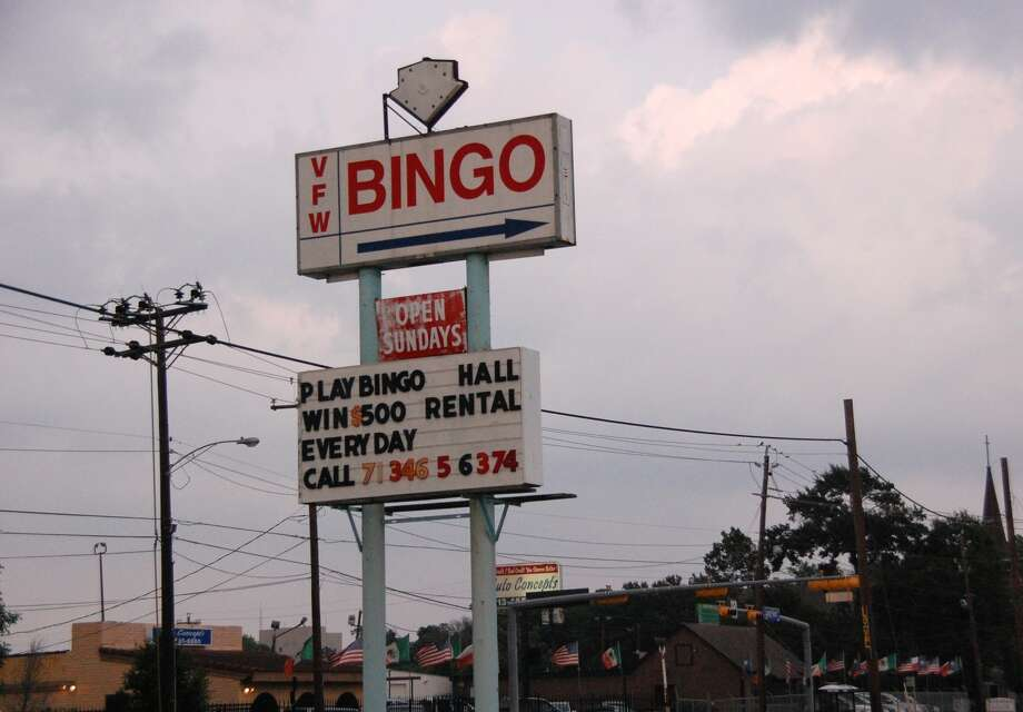 VFW Post 8790 bingo hall at 9101 Long Point Road
