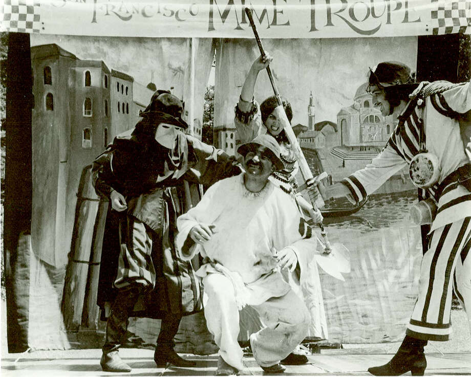 "Joe Bellan of the San Francisco Mime Troupe playing Ruzzante in ""Ruzzante or The Veteran"" during the 1960's.  (courtesy of San Francisco Mime Troupe) Photo: San Francisco Chronicle"