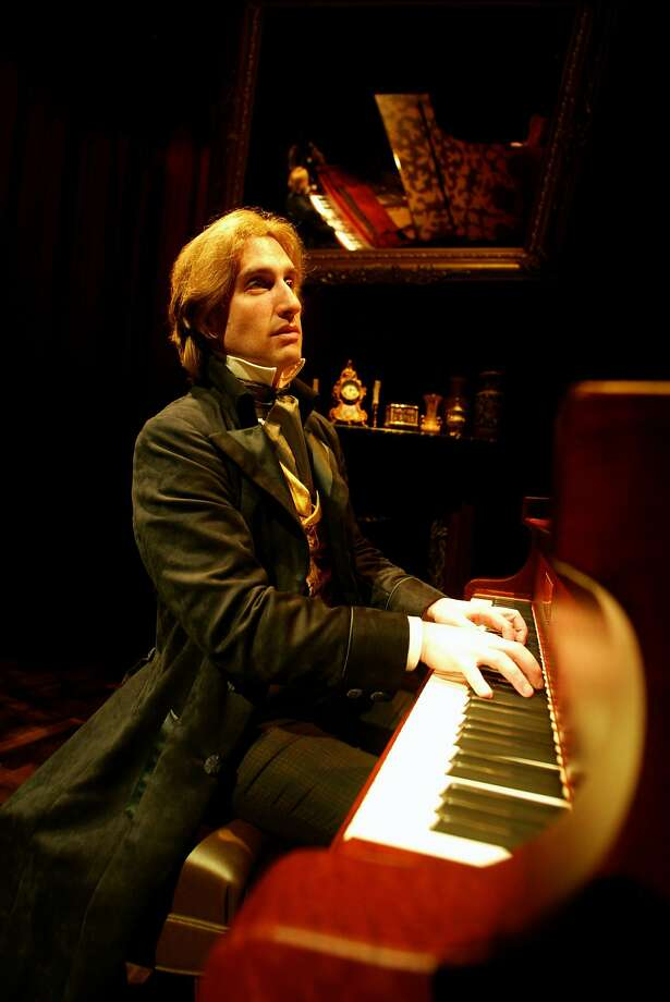 "Hershey Felder as the great Romantic composer in his solo piece ""Monsieur Chopin"" Photo: John Zich"