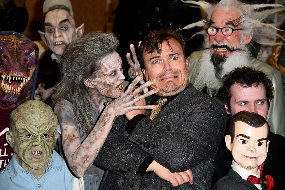 """Jack Black loves meetinghis fans at Comic-Con. (Sony Pictures Entertainment's """"Goosebumps"""" and   """"Pixels"""" panel at Hilton Bayfront.) Photo: Frazer Harrison, Getty Images"""